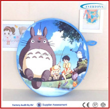 round shaped cushion sublimation pillow case anime pillow