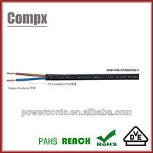 H03VV-F H03V2V2-F VDE PVC Power Cable