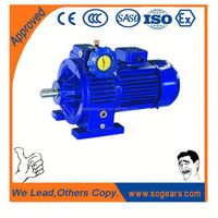 Worm reduction speed variator 110 volt ac gear motor Combined with K Series Helical Bevel Gearmotor
