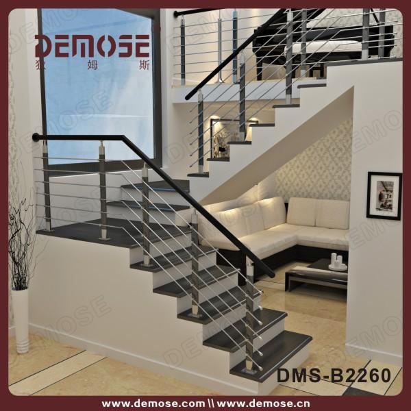 Barandas para escaleras de interior barandillas y for Escalera exterior de acero galvanizado precio