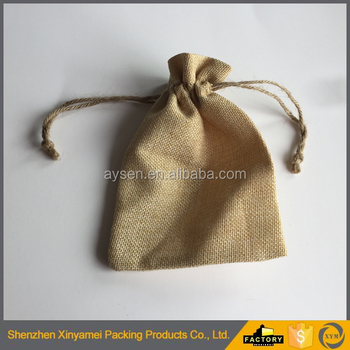customized eco promotional small organic promotional small organic cotton drawstring bag