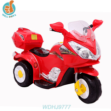 WDHJ9777 Electric 3 Wheels Baby Motorcycle Kids Toys Motorbikes 2018 Hanging Toy For Car