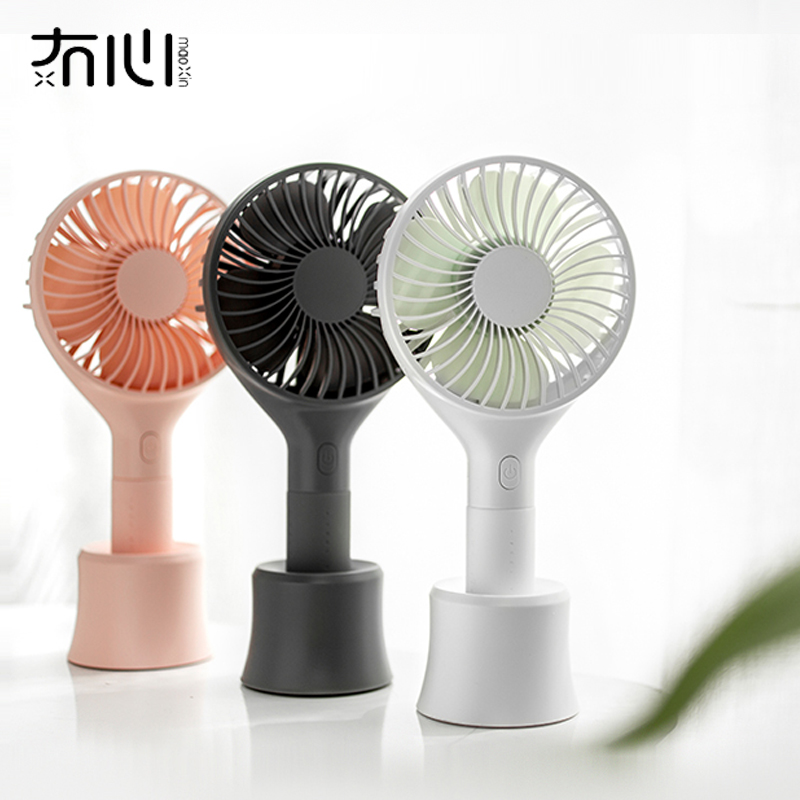 Maoxin 2019 new product beautiful cheap handheld desk integrated design portable handy usb mini <strong>fan</strong>