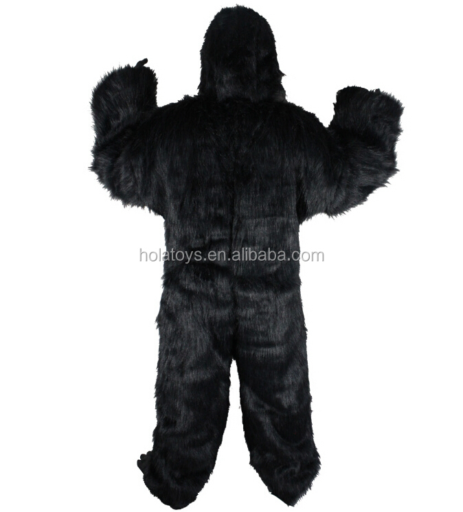 Hola black gorilla costume/halloween costume for sale