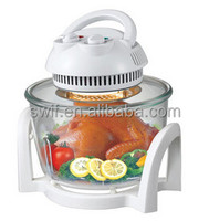 7L Glass Halogen Oven electric pizza oven with CE GS CB RoHS LFGB approval