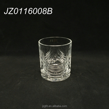 Wholesale 200ml elegant clear glass water tumbler, water drinking glassware