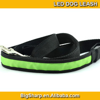 100pcs New arrival Wholesale dog leash lead/ Pet Collar Flashing LED Lighted Dog lead, Dog Harness/Pet Leashes DL-2501
