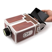 DIY Mobile Phone Projector Portable Cinema Mini Cardboard Smartphone Projector 2.0 Home Theatre For Android/ios Smartphone YD051