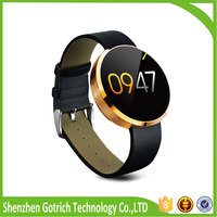 2016 new mobile phone anti theft alarm smart watch with camera dm360 touch screen china smart watch