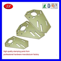 custom steel frame parts stamping metal service MOTOR SUPPORT PLATE