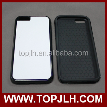 2D 2 IN 1 Coating Tough case for Iphone 5 5s