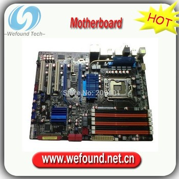 100% tested For ASUS P6T SE Mainboard Desktop Motherboard X58 ICH10R DDR3 LGA 1366 ATX Fully tested all functions Work Good