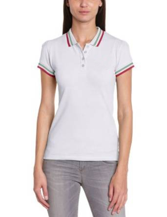 Newest wholesale plain white women polo design hot sale fashion polo