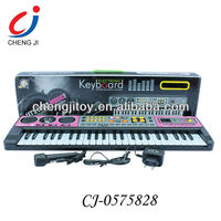 Kids multifuctional simulation toy kids 49 keys electronic music organs with microphone and MP3