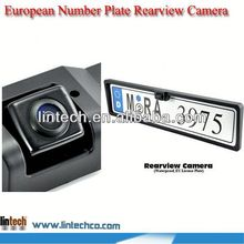 2014 NEW!! China supplier France Number Plate Rearview Camera for Gelly