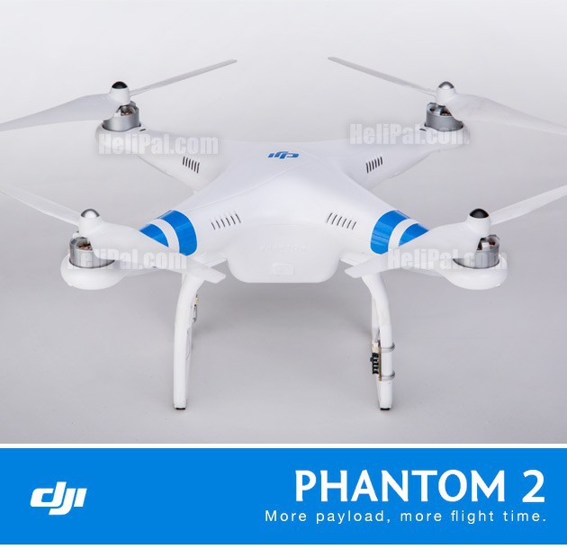 New DJI Phantom 2 Drone Quadcopter w/ Zenmuse H3-3D GoPro Camera Gimbal Combo