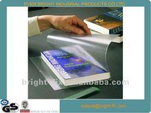 2012 Transparent PVC/CPP Book Cover