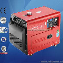 air-cooled 5kw silent diesel welder cum generator for home