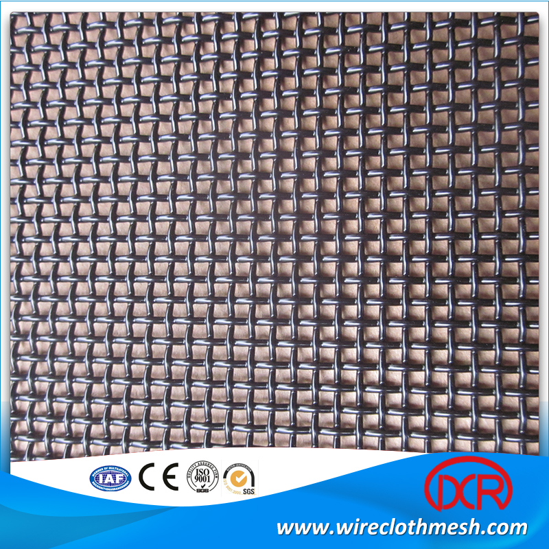 T316 Marine Grade High Tensile Stainless steel security screen/anping wire mesh