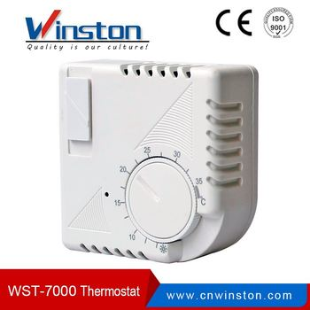 WST-7000 Bimetallic mechanical heating room thermostat
