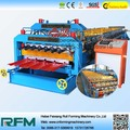 828-850 full automatic double layer metal roofing cold steel roll forming machine factory price for sale