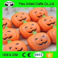 Customize Polyurethane OEM fake pumpkins party decoration pumpkin small craft pumpkins