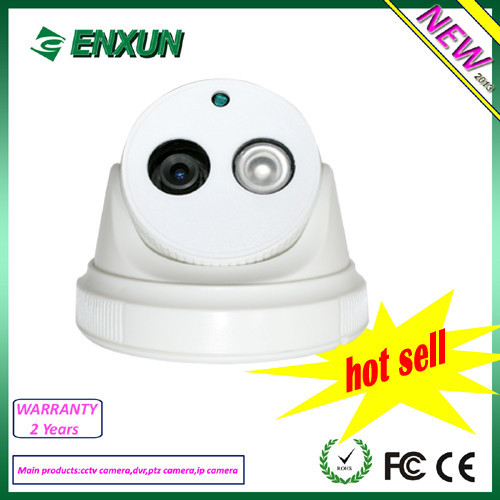 HD Indoor IR Network CCTV 720P Security IP Dome Camera Surveillance System