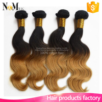 Wholesale Cheap Body Wave hair remy hair brazilian deep curly ombre hair weave