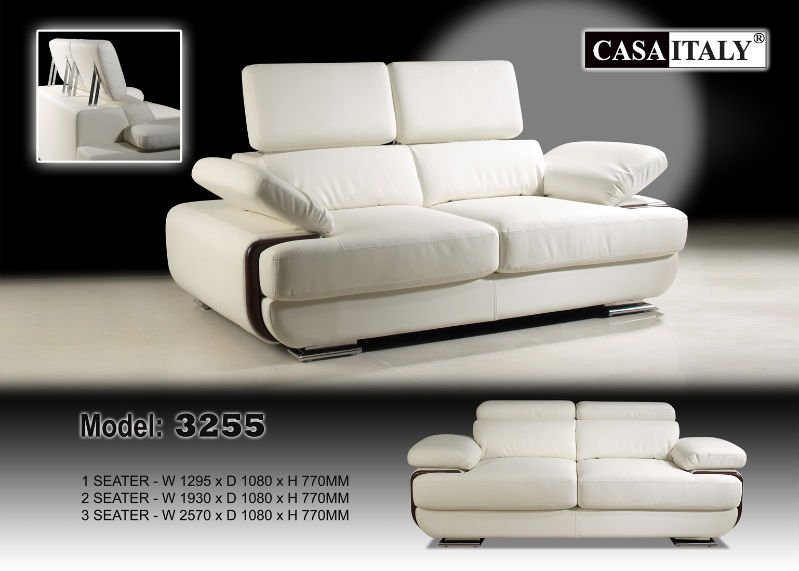 Casa Italy Leather Sofa F 3255