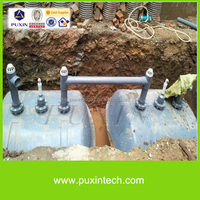 household biogas septic tank for sewage treatment
