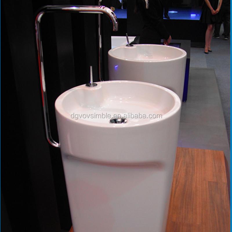 Fancy Bathroom Sink With Used Pedestal Sink