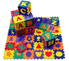 Alphabet Kids educational toy foam play mat eva puzzle mat