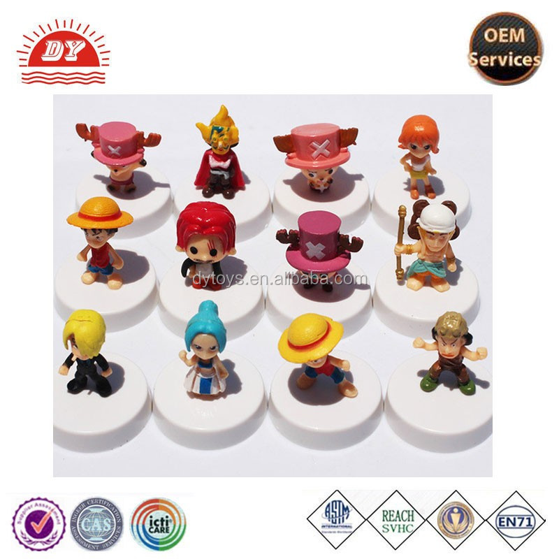 Custom OEM Classic plastic pvc cartoon Figure, anime action figure