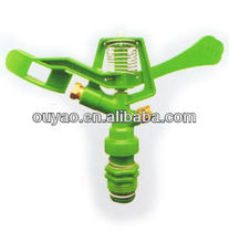 "China Factory Direct. G3/4"" Plastic Rotating Water Sprinkler. Nozzle Irrigation Agriculture Lawn Garden Sprayer Sprinkle"
