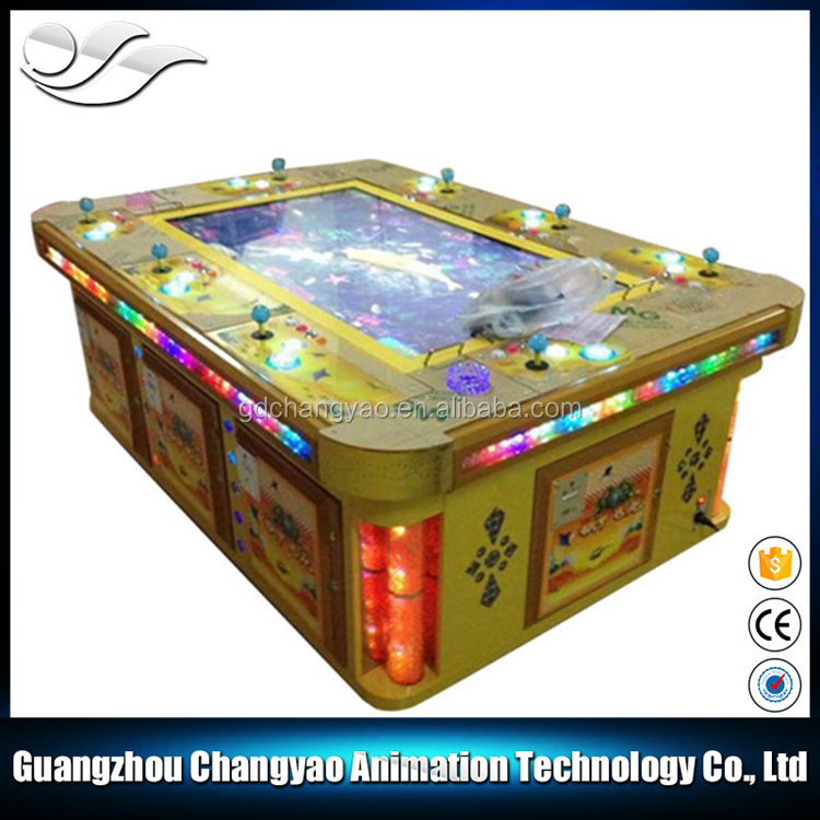 Phoenix Realm Skilled Fish Hunter Ocean Monster Game Table Machine