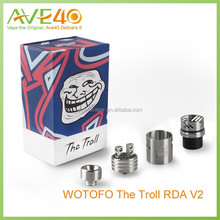 TOP Seller Wotofo RDA /WOTOFO The Troll RDA V2 for cloud chasing , Troll RDA V2