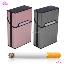 Free Shipping by DHL/FEDEX/SF Fashion Men 20 sticks Aluminum cigarette box