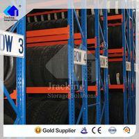 Promotional military truck and vehicle used tire rack,Hardware Storage steel surpermarket rack with five layers