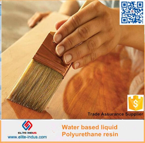Water based liquid PU resin for wood lacquer paint