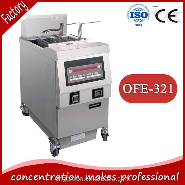 chinese kitchen equipments/fish and chips machine/fryer