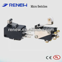 Double group combination micro switch/combination switch
