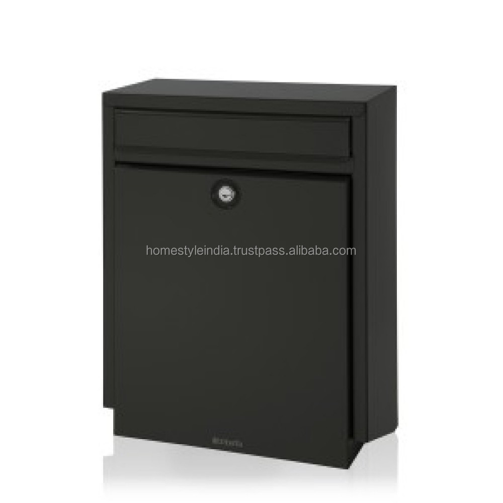 Very Beautiful Green Finish Letter Box, Square shape High Quality Letter Box