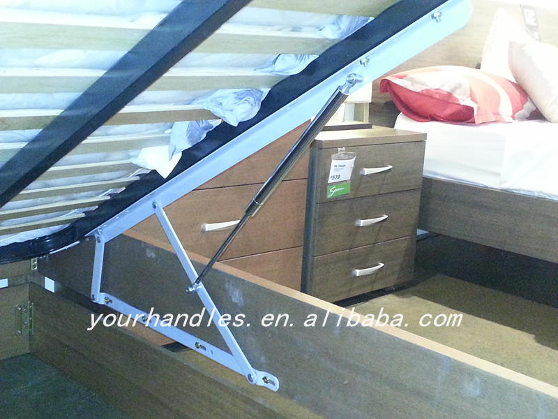 Original Factory Produce Storage Bed Hinge Mechanism With Gas Strut Zml7015