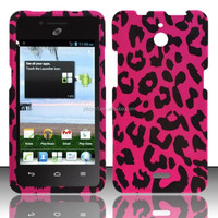 PINK LEOPARD Snap-On Cover Case for Huawei Valiant Y301 H881c, oem is welcome