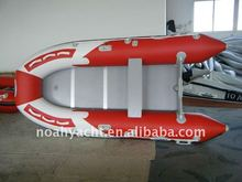 CE 360cm Noah Hypalon/PVC Inflatable aluminum floor high speed inflatable boats