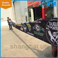 promotional banner advertising banner structure polyester banner for promotion