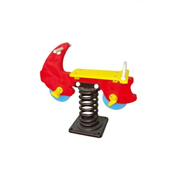 Factory manufacturer animal rocking toy plastic and steel spring rider