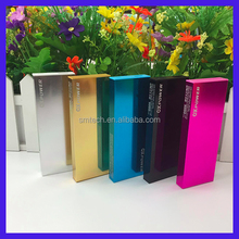 Ultra slim 8000mah portable power bank Dual Battery Charger USB Power Bank For Iphone for Samsung