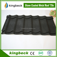 KINGBECK baikal type stone chip coated metal roof tile steel metal roofing sheets
