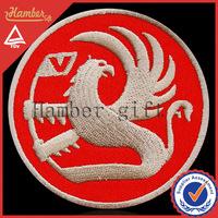 Elegant applique logos embroidery